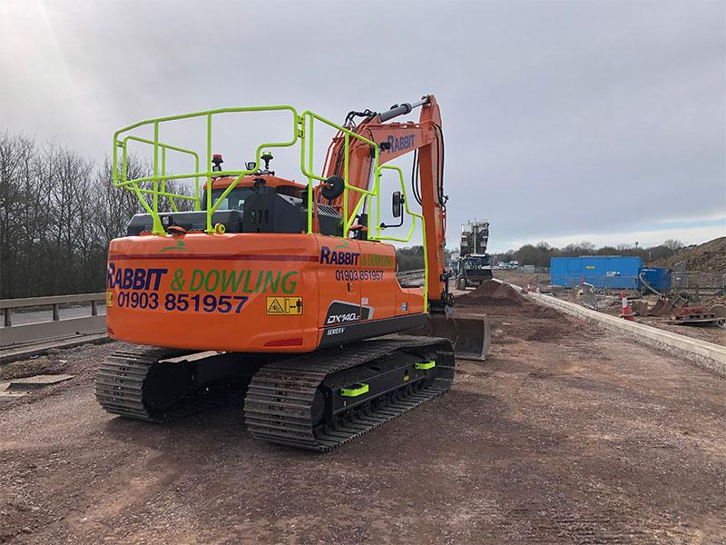 Excavator Hire Sussex