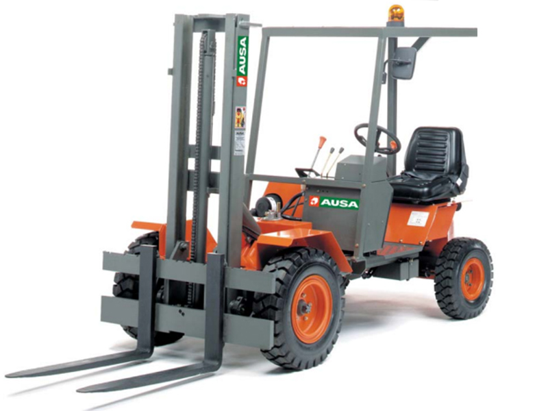 Masted Forklift Hire Sussex - 4M Ausa