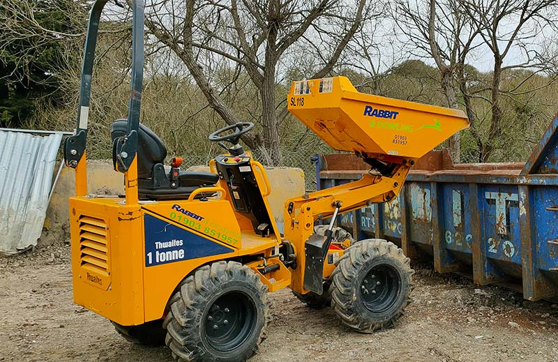 Plant Hire Services - Dumper Hire