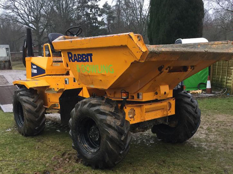 6-ton swivel dumper