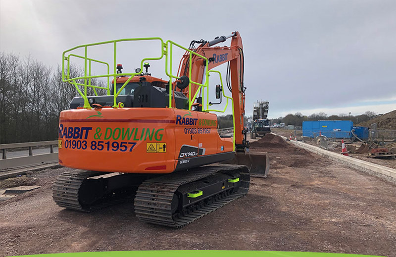 Plant hire from Rabbit and Dowling