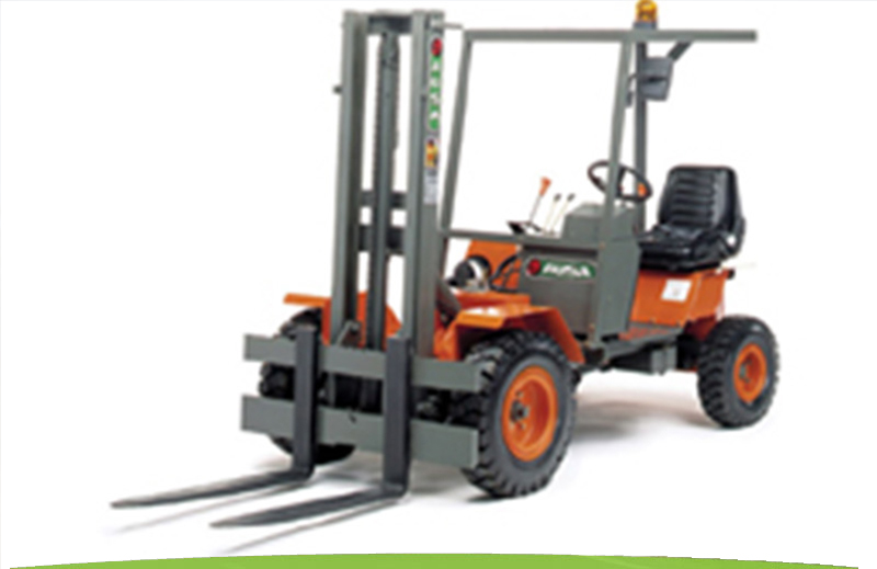 Example of Masted Forklift for hire from Rabbit and Dowling