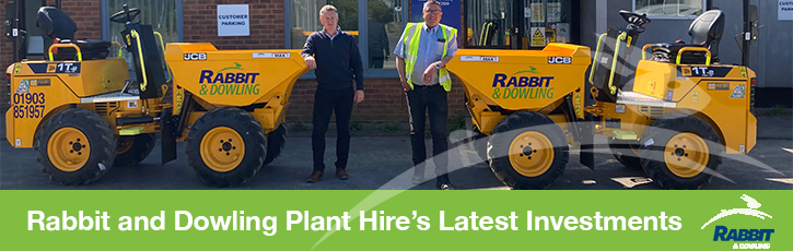 Rabbit and Dowling Plant Hire's Latest Investments